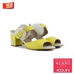 Pra usar naqueles dias quentes com muita classe #koquini #sapatilhas #euquero #tamanco Veja mais em: http://koqu.in/1KOguzi