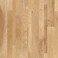 SW481 Nashville mixed width hickory engineered plank w/ micro-bevel edges in Opry 00261 from Shaw