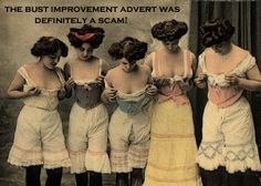 Victorian Women  In Undergarments