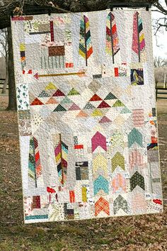 Native quilt -- I like this -- a cool combination of features that, while random, hold together nicely