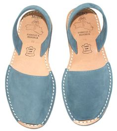 Nobuck Texaco  | Abarcas, shoes & sandals | MIBO Cosits (Menorca)