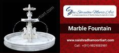 We are Offering Marble Fountain at Reasonable Price Now Decorate Your Home With Some More Beautiful Things ✔️ Best Quality ✔️ Fine Crafted ✔️ Mesmerizing Finishing 📲Contact us: 7976419167 Krishna Statue, Lord Krishna, Lord Shiva, Marble Furniture, Stone Fountains, Puja Room, Marble Art, Marble Stones, Gods And Goddesses