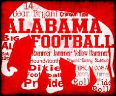 Alabama Elephant Poster