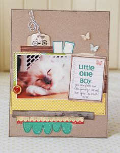 Create a sc'book for all the pets you've had with a written story about their cute antics.