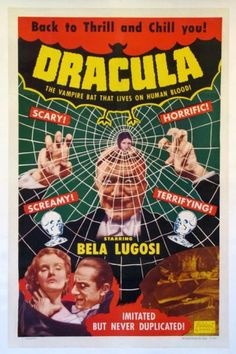 Dracula Movie Posters Original and Vintage