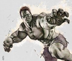 Hulk, in marco turini's IIlustration_Digital Comic Art Gallery Room Hulk Comic, Hulk Marvel, Marvel Heroes, Marvel Comics, Comic Book Heroes, Comic Books Art, Comic Art, Marvel Comic Universe, Comics Universe