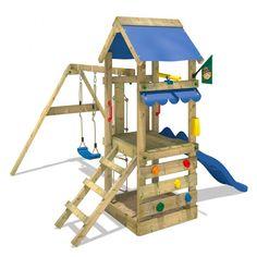 Parque infantil Wickey FreshFlyer con techo de lona