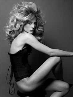 Natasha Vojnovic - Hair Storm, POP magazine, 2008  Photography by Sølve Sundsbø  Hair by Luigi Murenu  Styling by Katie Grand