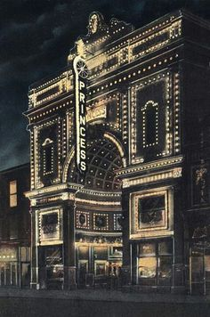 The Princess Theater. ...1909 Denver....b♡