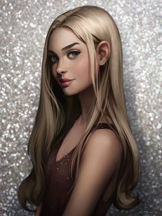 Blonde, Svetlana Tigai on ArtStation at https://www.artstation.com/artwork/zma0d