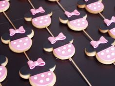 Galletas de Minnie Mouse