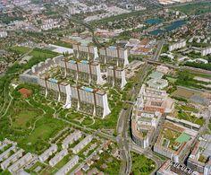 Alt-Erlaa: Architecture That Serves A Social Purpose — Social Housing That Looks & Feels Like Luxury Housing Salzburg Austria, Social Housing, My Dream, City Photo, Travel Destinations, To Go, Places To Visit, Landscape, Architecture