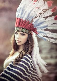 When I was little, I pretended to be Pocahontas to the point that I believed it.