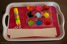 Activity Trays (some of these would also make good Quiet Time activities)