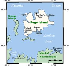 Fogo Island, Newfoundland and Labrador - Wikipedia, the free encyclopedia Fogo Island Newfoundland, Newfoundland And Labrador, Ottawa, Flat Earth Society, Island Map, Active Volcano, Canada, How To Become Rich, Island Girl