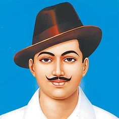 Shaheed Bhagat Singh was the Indian Freedom fighter and also one off the most influential revoluntionary. He was born on Banga Punjab. And died at the young age of He was quite at academic, from the school only he was very motivated. Bhagat Singh In Hindi, Bhagat Singh Quotes, Freedom Fighter Bhagat Singh, Bhagat Singh Wallpapers, Indian Police Service, Freedom Fighters Of India, Desktop Background Pictures, Growth And Decay, Indian Flag