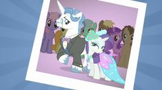 Rarity gets close to Fancy Pants.