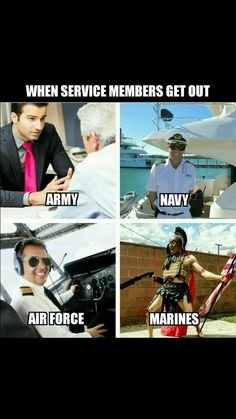 When Service Members get out - Military Memes Military Jokes, Army Humor, Army Memes, Military Life, Marine Memes, Marine Corps Humor, Marine Quotes, Excuse Moi, Funny Jokes