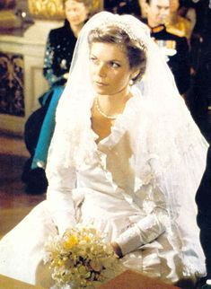 Princess Marie-Astrid of Luxembourg and Archduke Carl Christian of Austria,  February 6, 1982