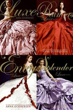 The Luxe Series by Anna Godbersen. WANT WANT WANTT. Love these books! They're my all time favorites!! ~ $8.99 ea. (paperback)