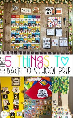 5 Easy Back to School Classroom Prep Ideas
