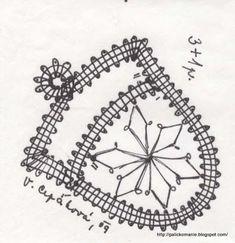 Crochet Stitches Chart, Bobbin Lacemaking, Bobbin Lace Patterns, Needle Lace, All Craft, Lace Making, Irish Crochet, Compass Tattoo, Weaving