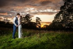 Sunset photos on your wedding, bride and groom at sunset. Wedding day in Ireland, Irish Wedding, Weddings in Ireland. Tara  Dave, Tara Donoghue Photography