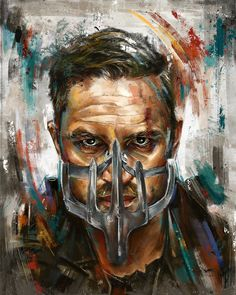 Mad Max: Fury Road Portraits - Created by Robert Bruno                                                                                                                                                                                 More