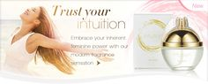 Our new modern Intuition fragrance explodes with gorgeous florals and sensuous spices that exude femininity and evoke natural confidence. Femininity, Beauty Secrets, Intuition, Beauty Care, Florals, Zen, Confidence, Spices, Fragrance