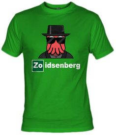 Fanisetas.Com- Camiseta Zoidsenberg- Futurama - Breaking Bad