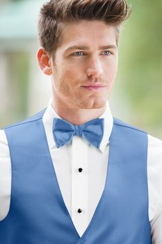 Expressions Cornflower Bow Tie | Jim's Formal Wear