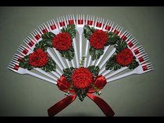 Веер из вилок для невесты поделки своими руками - YouTube