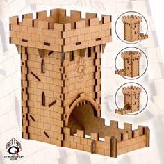 Dice tower - human castle
