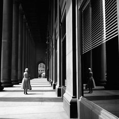 vivian maier, a live-in nanny and passionate street photographer on/off the job .. died in 2009 at age 83.  two years before her death, 100,000 negatives and 100's of unprocessed rolls of film were discovered in a unclaimed storage locker .. and auctioned off for delinquent rent. extremely private, she had never shown her extraordinary work to anyone and known facts were few. read more here ..  http://www.vivianmaier.com/about-vivian-maier/