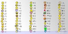22 Skype And Facebook Emoticons For Inspirations