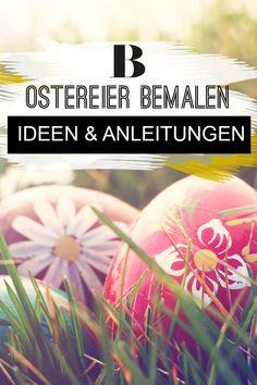 Ostereier bemalen: Ideen und Anleitungen. Ostereier können wir zu Ostern nicht nur ausblasen und färben, sondern auch hübsch bemalen. Die schönsten Ideen für eure Osterdeko findet ihr hier.