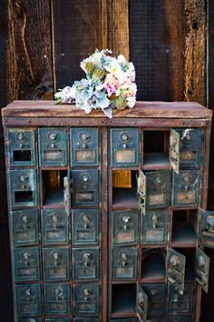 Crosby Post Office boxes looked like these