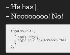 TheaterJS – Javascript Typing Effect Plugin