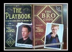two great books by barney stinson