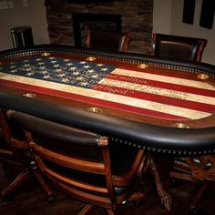 All In One Game Table Home Bar Unit Wine Rack Blackjack