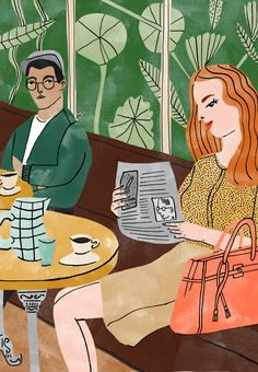 Dutch illustrator Bodil Jane has been making waves on the illustration scene since graduating from the Willem de Kooning Academy in Rotterdam. Beginning commissioned work in her second year of studying her portfolio has grown in strength and variety, including clients such as _The Plant Journal_, _Radio Times_ and _Amsterdam & Co_.