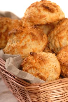 CHEDDAR BISCUITS - This is a great gluten-free GAPS/SCD snack. You'll want to at least double or triple the recipe because they go fast! (MARIA RICKERT HONG NUTRITIONAL HEALING, www.MariaRickertHong.com)