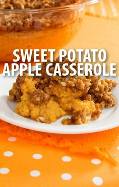 Want a sweet breakfast, snack, or dessert idea? Try Daphne Oz's Sweet Potato Apple Casserole Recipe from The Chew, using Almond Breeze vanilla milk. http://www.recapo.com/the-chew/the-chew-recipes/chew-daphnes-sweet-potato-apple-casserole-recipe-almond-breeze/