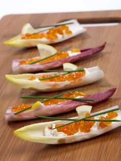 Toasts d'endives