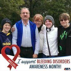#BleedingDisorders Awareness Month - Drawing a Bigger Circle