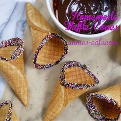 Finally, a perfect recipe for homemade waffle cones, just in time for… fall. Womp womp. They may not be the most seasonally appropriate food but really, is there ever a … Read More