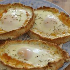 Cheesy Egg Boats - Low Carb & Keto Friendly