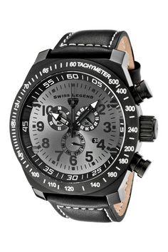 Swiss Legend  Men's SL Pilot Series Chronograph Watch