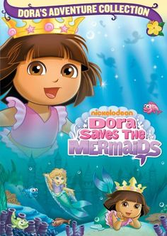 Dora The Explorer: Dora Saves The Mermaids, 2008 Parents' Choice Award Approved Award - DVDs #DVD