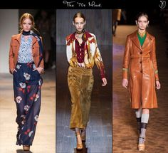 Spring 2015 fashion trends '70s mood  We've sensed them slowly working towards taking over the fashion trends this season, but it's in spring 2015 when the '70s influences are expected to bloom in all of their nostalgic-infused beauty. Although subtle, the hippie motifs meet the more modern accents in perfect harmony: